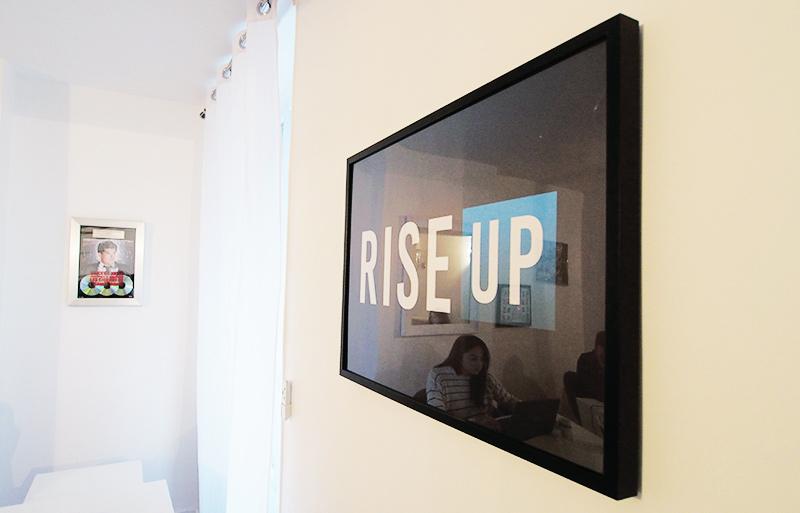 agence rise up